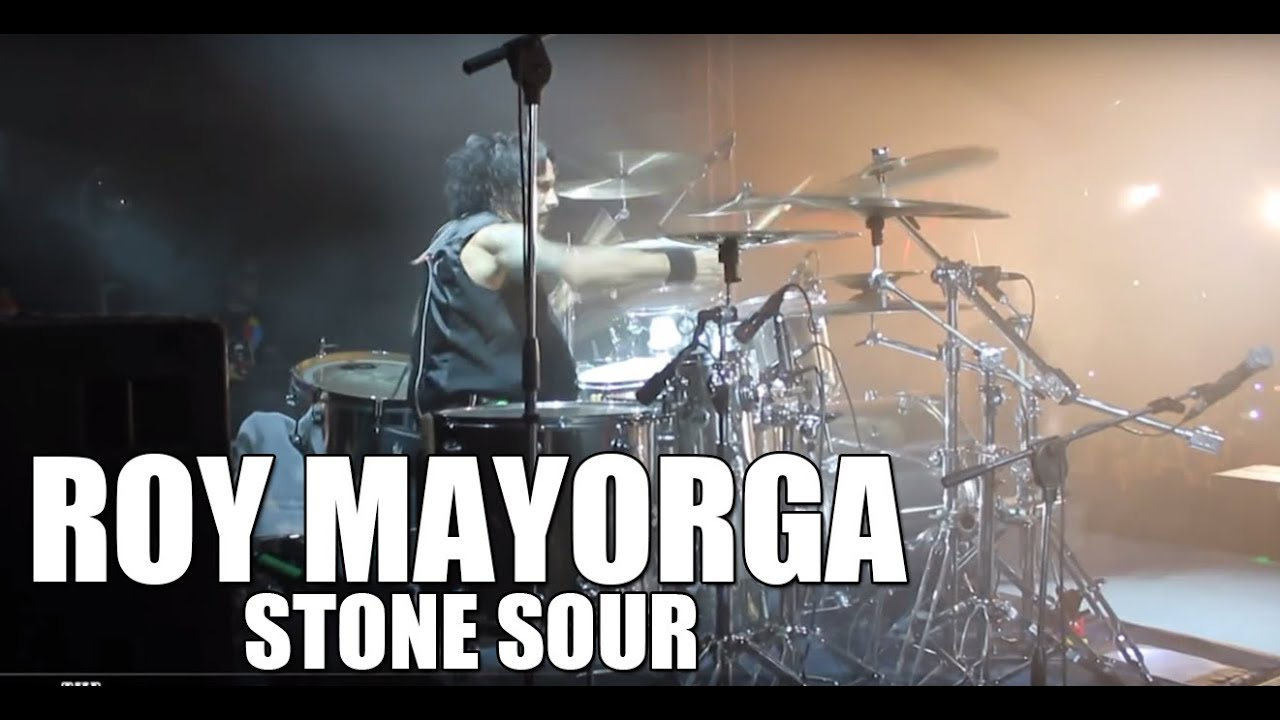 Roy Mayorga (Stone Sour) - 'Gone Sovereign, Absolute Zero' live drum cam