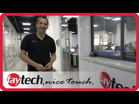 faytech touch devices factory tour 2017 in Shenzhen, China