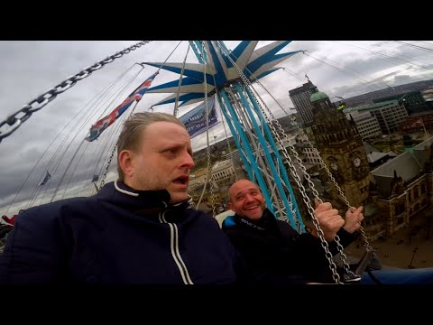 Big John tries out the Star Flyer in Sheffield!