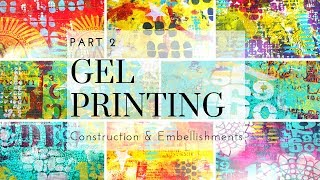 Gel Printing Album PART 2, COULD THIS BE A GIVEAWAY!!!