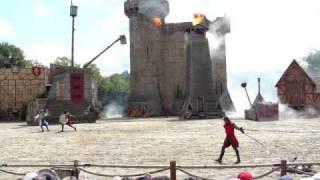 Bataille de Donjon au Puy du Fou, 08/07/2009