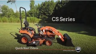 KIOTI CS Series - Quick Start Video