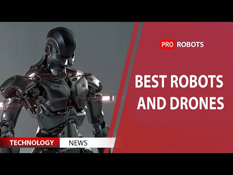 Latest robots, drones and China's space mission. Technology News 2020