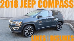 2018 Jeep Compass Likes and Dislikes