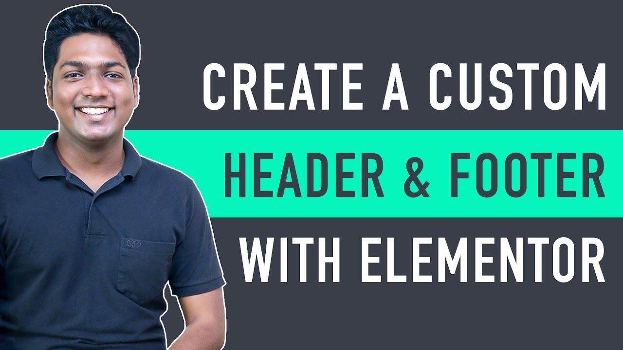 How To Create Custom Header & Footer in WordPress
