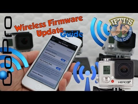 GoPro Wireless Firmware Update Guide - Using GoPro WiFi Smartphone App!