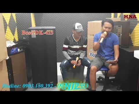 Loa Kéo Karaoke Bass Đôi Siêu Khủng Bose DK-415