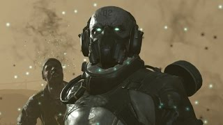 Metal Gear Solid 5 The Skulls 2nd Encounter Boss Fight 1080p 60fps