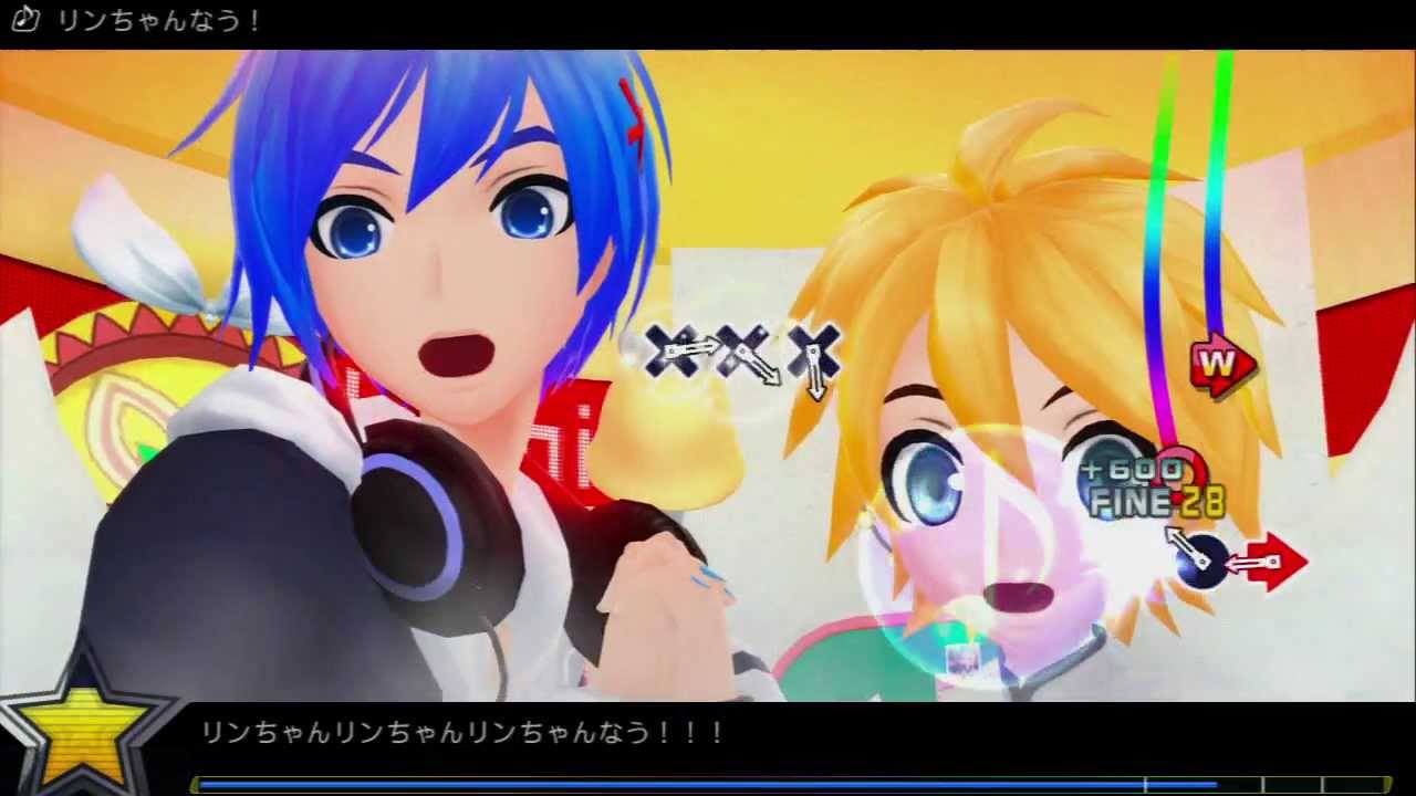 Project diva f rin chan now hard gameplay feat kaito kagamine len youtube - Kagamine rin project diva ...
