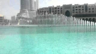 Dubai Musical Fountain Water Arabic Dance on this eid - Burj Khalifa by waseem khan...