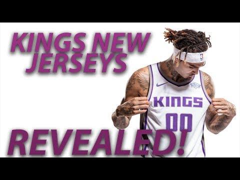 SACRAMENTO KINGS UNVEIL NEW NIKE JERSEYS! NBA 2017-18