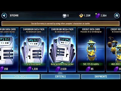 Download Star Wars Galaxy of Heroes, 8x Open + Character Part 2