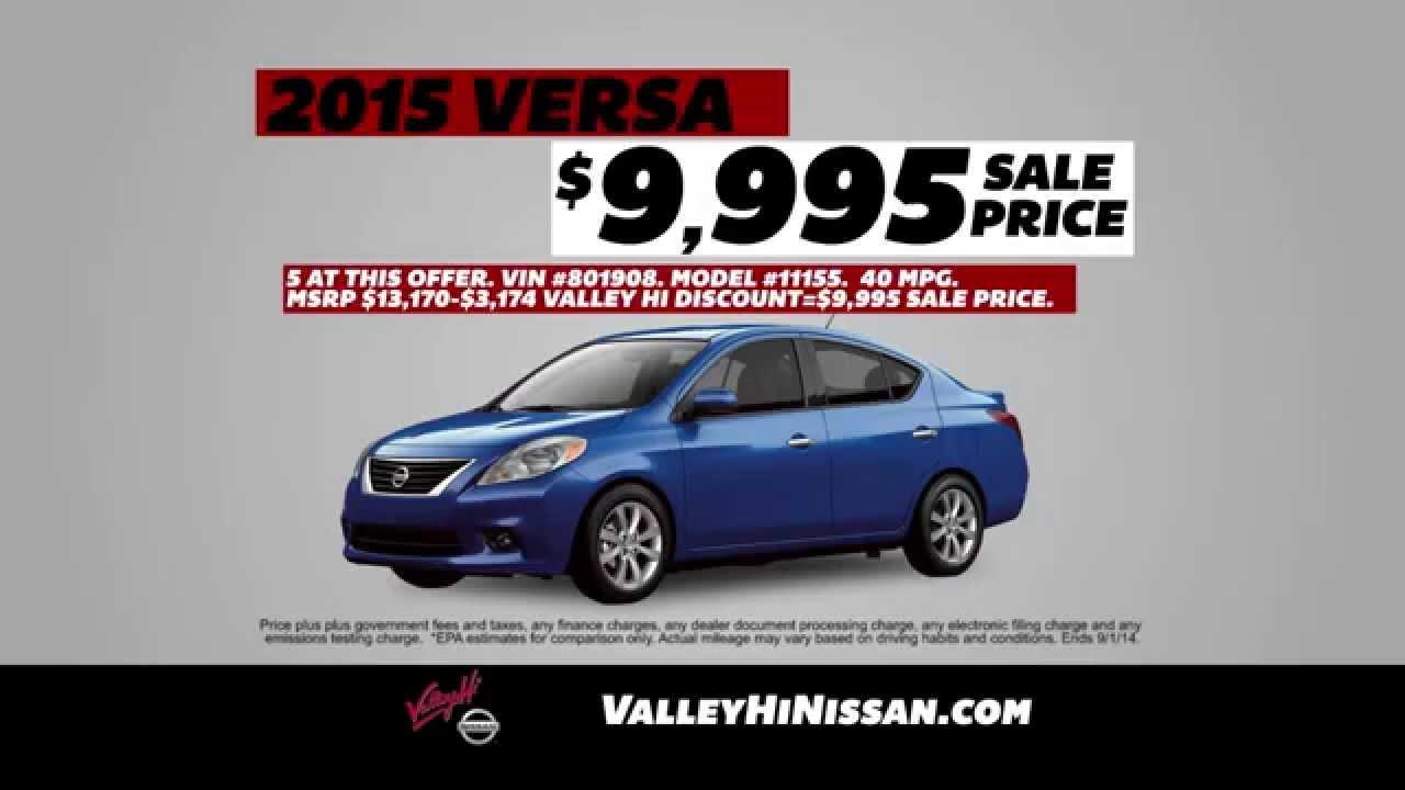 Valley Hi Nissan - Bottom Line Labor Day - YouTube