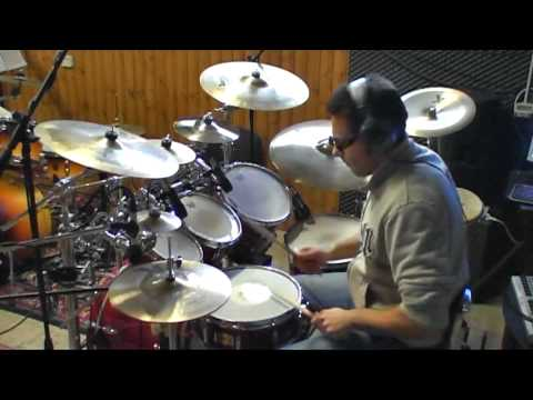 Vasco Rossi - gioca con me - drum cover by Andrea Mattia