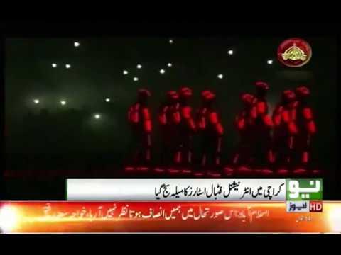 International football star celebrated in Karachi