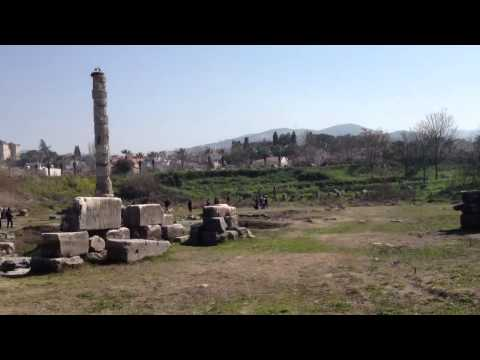 Temple of Artemis ruins (One of the Seven Wonders of the Ancient World)