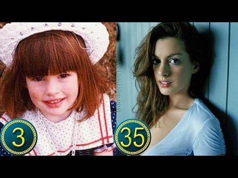 Download Anne Hathaway  Childhood | Transformation from 3 to 35 Years Old