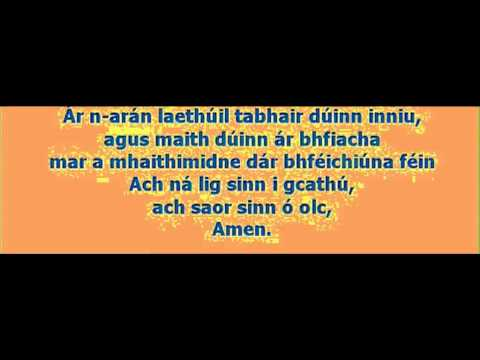 GAELIC  OUR FATHER-www.mariadavid.faithweb.com.avi
