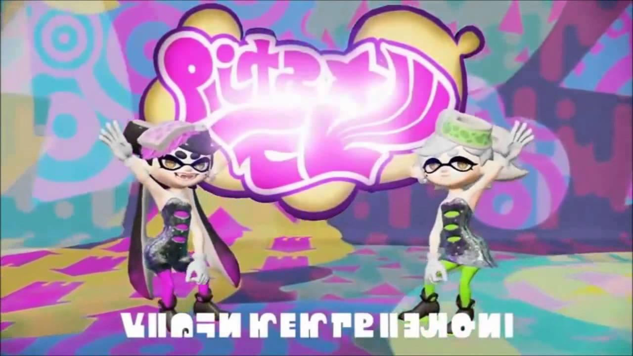 splatoon squid sisters showering