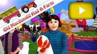 Old MacDonald Had A Farm - 3D Animation English Nursery Rhymes for children | EBOX