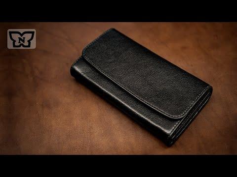 Сшить кошелек из кожи своими руками мастер класс разные модели