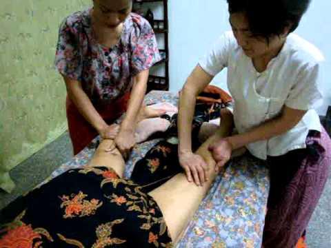 สอนนวดน้ำมันหินร้อน เรียนนวดน้ำมันหินร้อนรัชดา Body hot stone drainage massage
