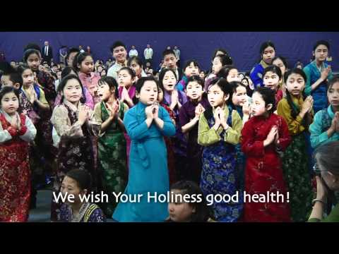 Welcome Song for Dalai Lama HD
