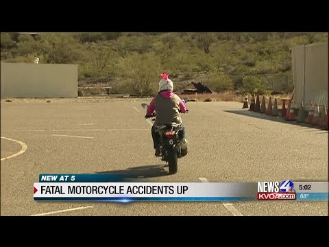 Fatal Motorcycle Accidents Up In Tucson