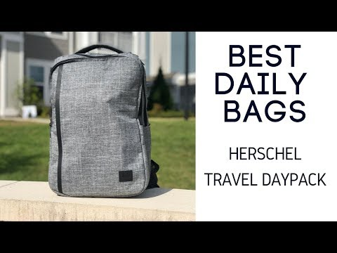 Herschel Travel Daypack Review - Slim 20L Work Travel Backpack