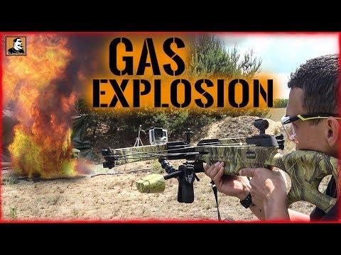 """""""Survival Mattin"""" überlebt GAS-EXPLOSION UNFALL nach SCHUSSWECHSEL mit ARMBRUST nur knapp."""