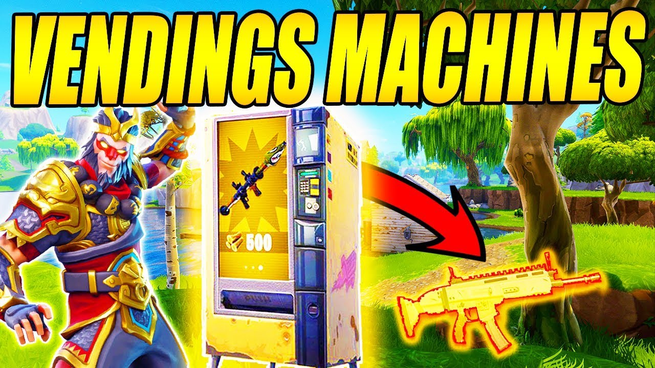 *NY* LEGENDARY VENDING MACHINE I FORTNITE - DANSK FORTNITE - [#6]