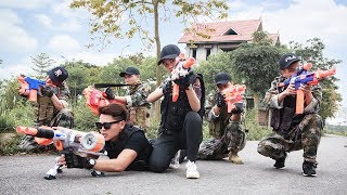 LTT Nerf War SEAL X Special Mission Use Skill Nerf Guns Pervade Attack Dangerous Criminals