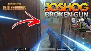 IS THIS GUN BROKEN? - JOSHOG PUBG MOMENTS (HIGH KILL GAME)
