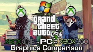 GTA V - Xbox 360 Vs Xbox One Vs PC - Graphics Comparison