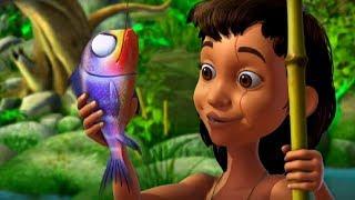 Маугли - Книга Джунглей – Улов – развивающий мультфильм для детей