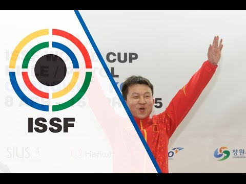 Interview with HUI Zicheng (CHN) - 2015 ISSF Rifle and Pistol World Cup in Changwon (KOR)