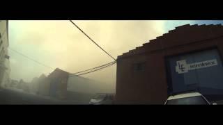 Incendio en huercal de Almeria