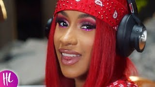 Cardi b shows baby