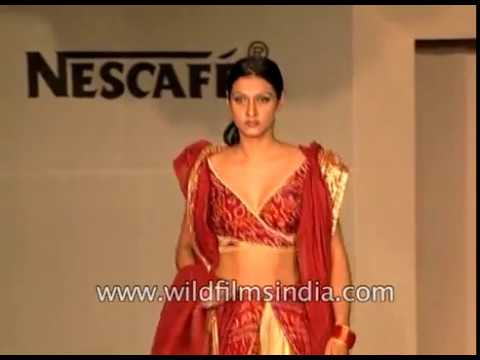 Winter collection designs by the students of Fashion Designing Institute in Delhi