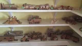 A Peek Inside An Amish Toy Shop