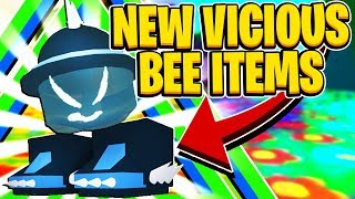 NEW Vicious Mask And Vicious Boots In Roblox Bee Swarm Simulator