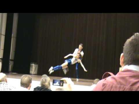 Wedstrijd Footloose Dancers 08.01.2012 Ben Stassen & Bianca Jacobs