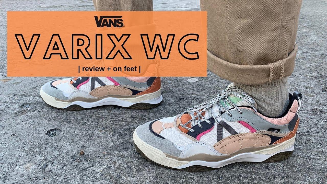vans varix wc on feet