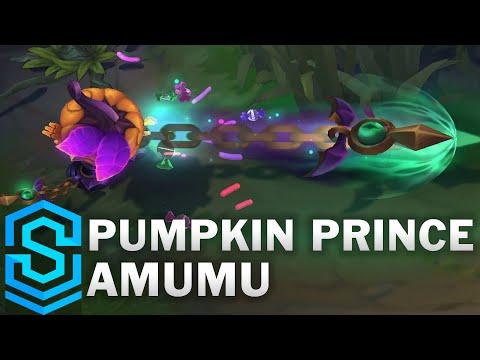 Pumpkin Prince Amumu Skin Spotlight - League of Legends