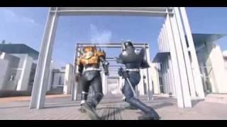 Kamen Rider Scissors VS Kamen Rider Knight