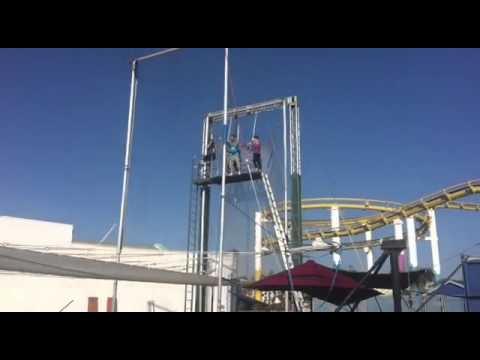Trapeze School NEW YORK - Santa Monica Pier, CA, US; LEARNING SEGMENT