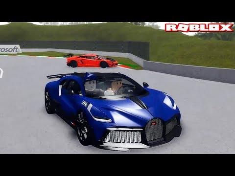 Bugatti Divo Ile Yarıştık! - Panda Ile Roblox Sports Car Simulator 3