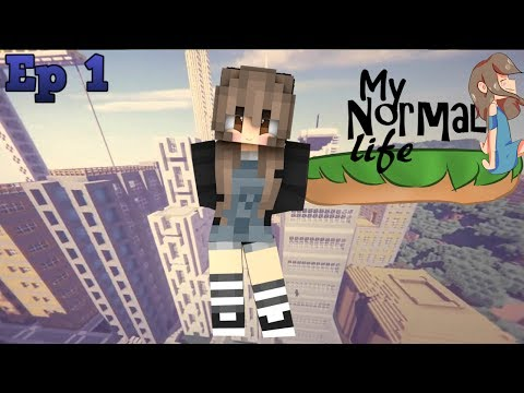 A new town  Ep. 1 My normal life minecraft roleplay
