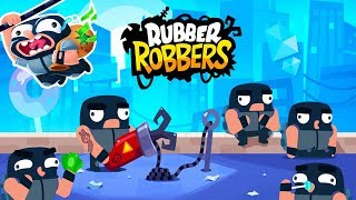Rubber Robbers -  Android Gameplay (By Simplicity Games)