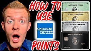 AMEX POINTS 101: How To Use Amex Membership Rewards Points (How To Redeem Amex Points For Travel)